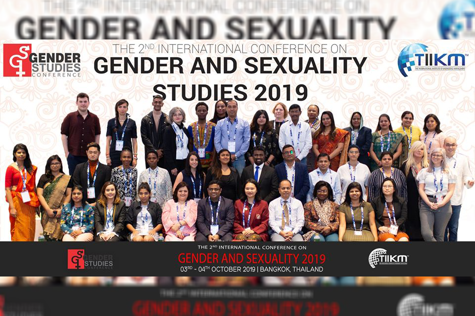 the 3rd international conference on gender and sexuality 2020
