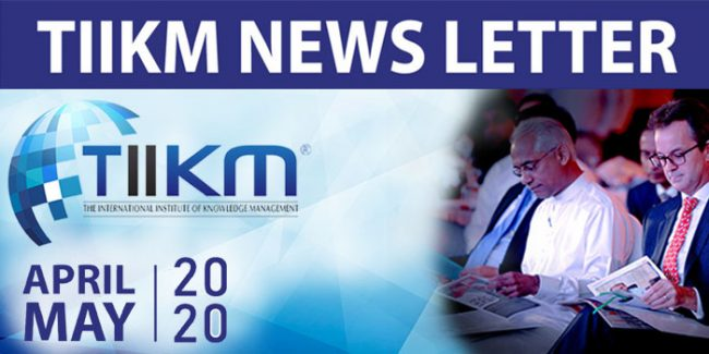 tiikm news letter april & may 2020
