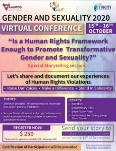 is a human rights framework enough to promote transformative gender and sexuality?