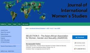 Journal of International Women's Studies (JIWS)
